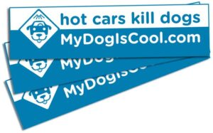 A hot car warning to place on your car!